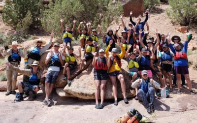 Diné Youth Learn River Safety and Ecology while Rafting Through Dominguez-Escalante Canyon
